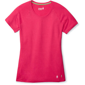 Smartwool Merino 150 Baselayer Pattern T-shirt Femme, potion pink